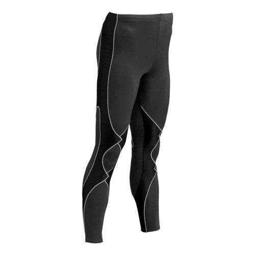 Mens CW-X Insulator Expert Fitted Tights - Black/Grey M