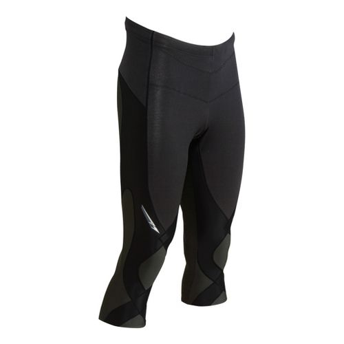 Mens CW-X Insulator Stabilyx 3/4 Capri Tights - Black L