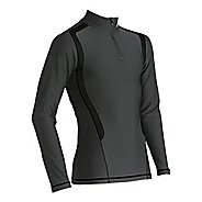 Mens CW-X Insulator Web Long Sleeve No Zip Technical Tops