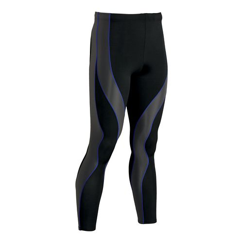 Mens CW-X PerformX Fitted Tights - Black/Grey L