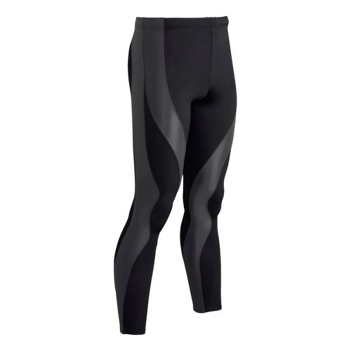 Mens CW-X PerformX Fitted Tights - Black/Dark Grey L