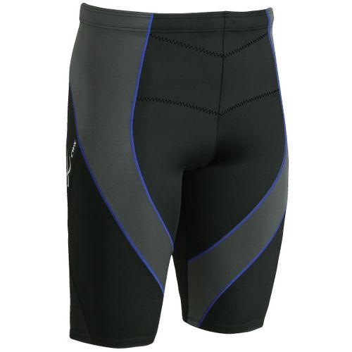 Mens CW-X PRO Fitted Shorts - Black/Grey Web L