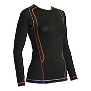 Womens CW-X Long Sleeve Ventilator Web No Zip Technical Tops