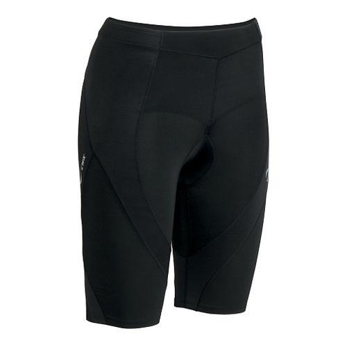 Womens CW-X Pro Tri Fitted Shorts - Black L