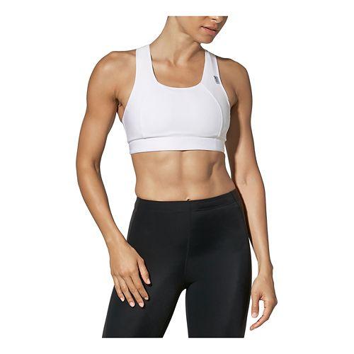 Womens CW-X Xtra Support III Sports Bras - White 36DD