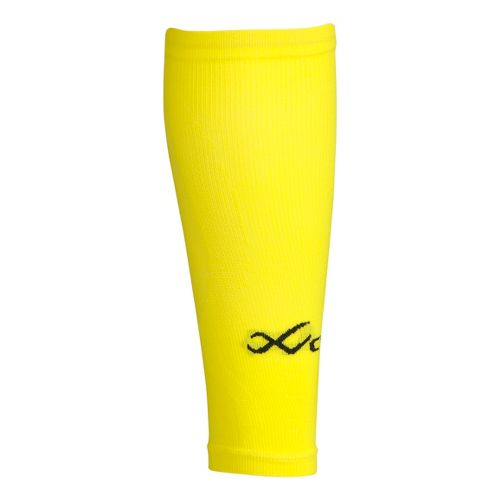 CW-X Ventilator Compression Support Calf Sleeves Injury Recovery - Yellow M