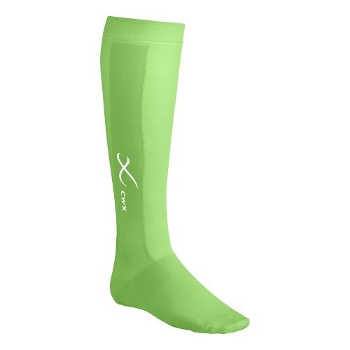 CW-X Compression Support Socks Injury Recovery - Lime XL
