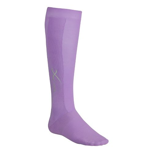 CW-X Compression Support Socks Injury Recovery - Lavender XL
