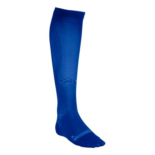 CW-X Ventilator Compression Support Socks Injury Recovery - Blue L