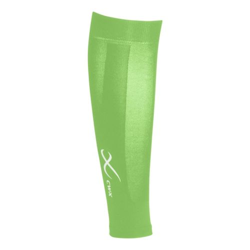 CW-X Compression Calf Sleeves Injury Recovery - Lime Green XL