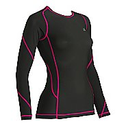 Womens CW-X TraXter Long Sleeve No Zip Technical Tops