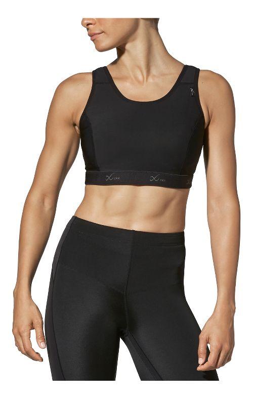 Womens CW-X Stabilyx Running Sports Bras - Black 40DD
