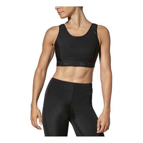 Womens CW-X Stabilyx Running Sports Bras - Black 34DD