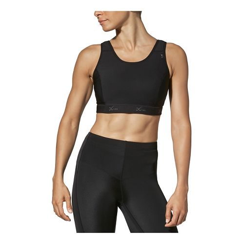 Womens CW-X Stabilyx Running Sports Bras - Black 36DD