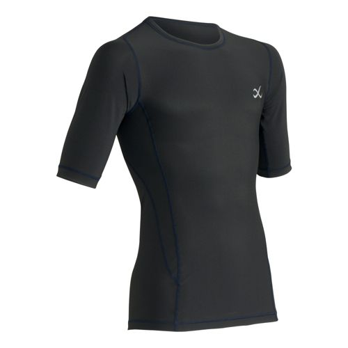 Mens CW-X TraXter Short Sleeve Technical Tops - Black L