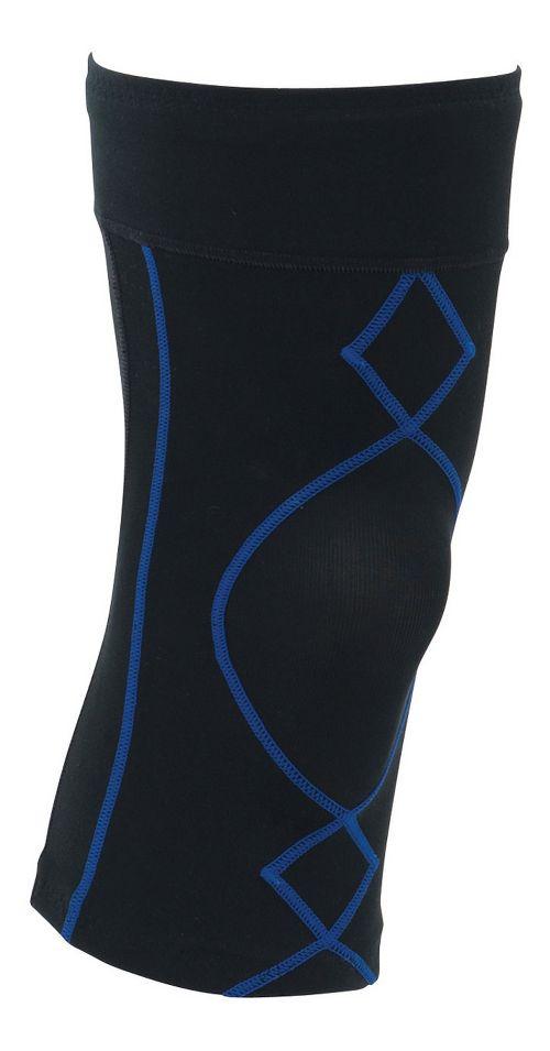 Mens CW-X Stabilyx Knee Support Fitness Equipment - Black/Blue L