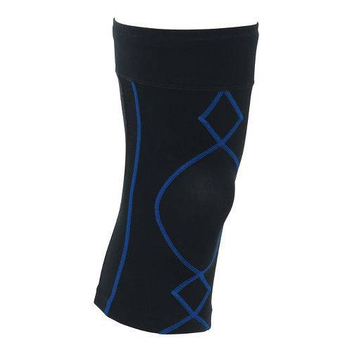 Mens CW-X Stabilyx Knee Support Fitness Equipment - Black/Blue M