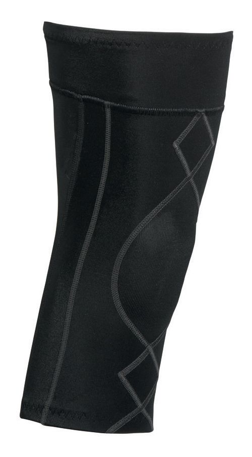 Mens CW-X Stabilyx Knee Support Fitness Equipment - Black/Charcoal L