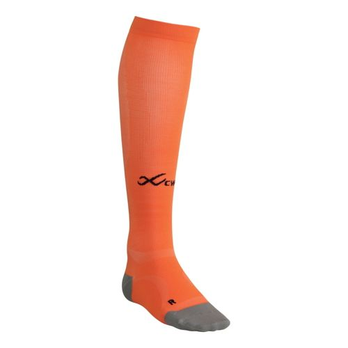 CW-X Ventilator Compression Support Socks Injury Recovery - Orange M