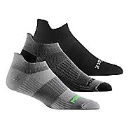 Wrightsock Cool Mesh II No Show Tab 3 pack Socks