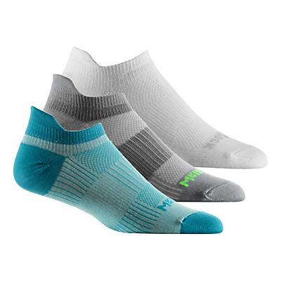Wrightsock Cool Mesh II No Show Tab 3 pack Socks