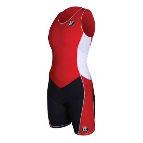 Womens De Soto Forza ITU Trisuit Triathlon UniSuits - Red M
