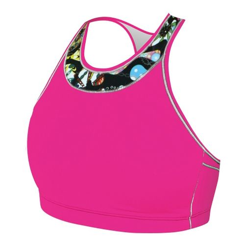 Womens De Soto Carrera Top Sports Bras - Ginger Pink L