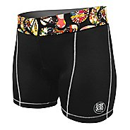 Womens De Soto Carrera Tri Fitted Shorts