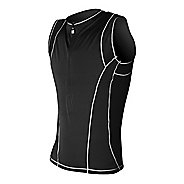 Mens De Soto Forza Tri Jersey Sleeveless Technical Tops