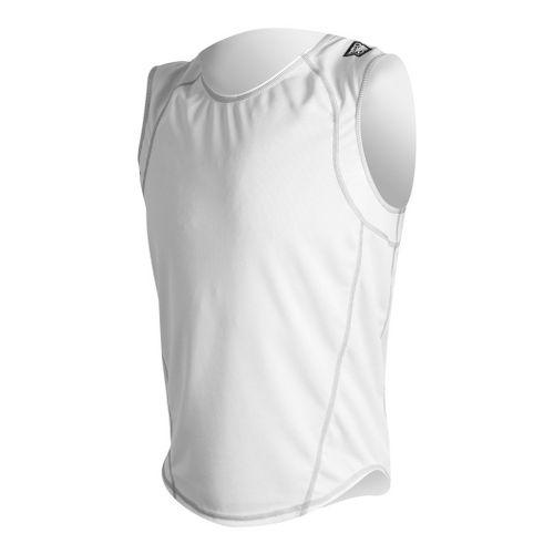 Mens De Soto Carrera Loose Jersey Sleeveless Technical Tops - White M