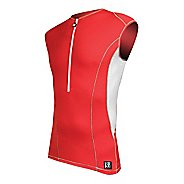 Mens De Soto Carrera Tri Jersey Sleeveless Technical Top