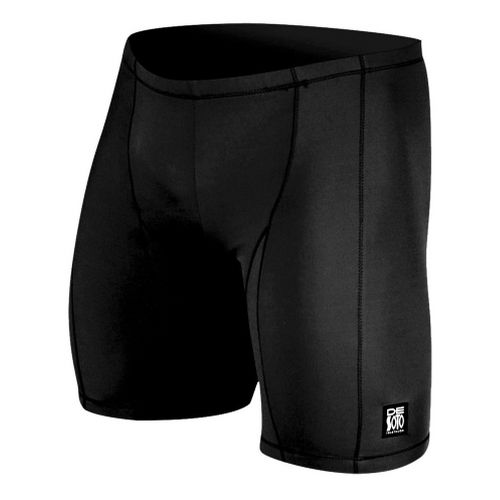 Mens De Soto Carrera Tri Fitted Shorts - Black L