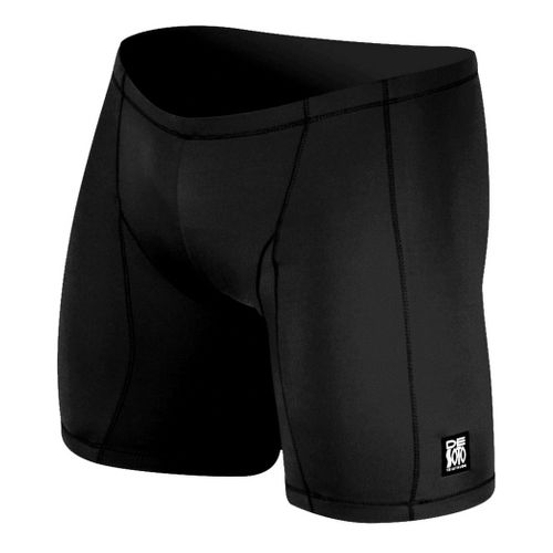 Mens De Soto Carrera Tri - Low Cut Fitted Shorts - Black L