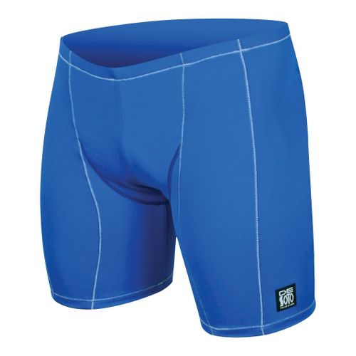 Mens De Soto Carrera Tri - Low Cut Fitted Shorts - Royal/White L