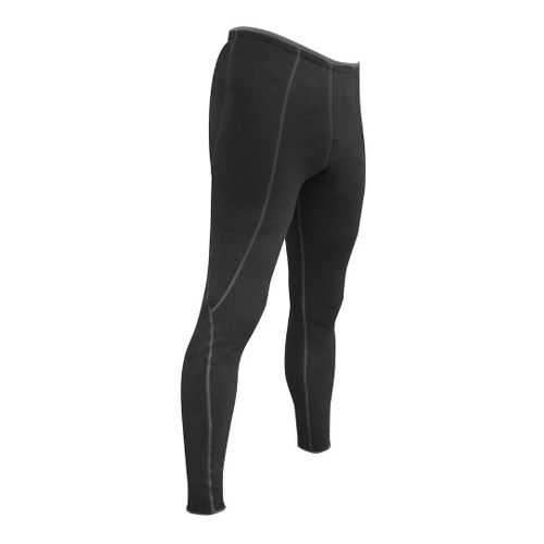 De Soto Fleece Fitted Tights - Black L