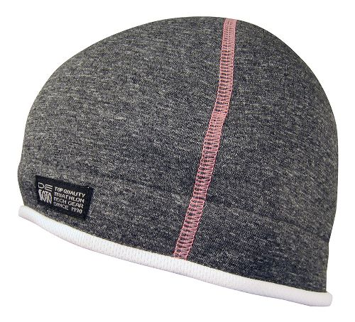 De Soto Fleece Helmet Beanie Headwear - Grey/Pink