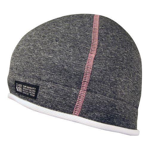 De Soto Fleece Helmet Beanie Headwear - Grey/Pink