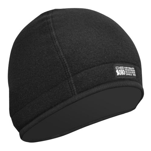 De Soto Fleece Helmet Beanie Headwear - Black