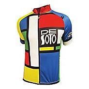 Mens De Soto Skin Cooler Bike Jersey Short Sleeve Technical Tops