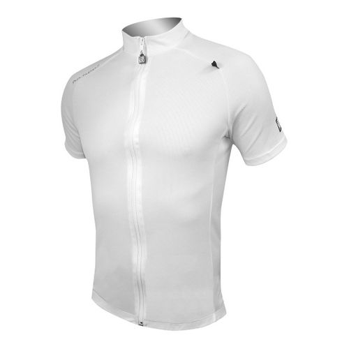 Mens De Soto Skin Cooler Bike Jersey Short Sleeve Technical Tops - White XL