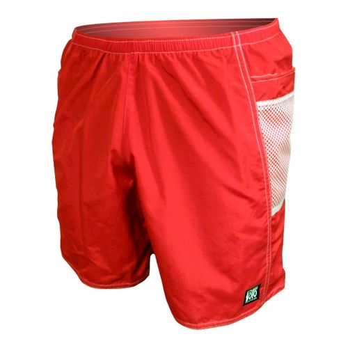Mens De Soto Solana Run - 7inch Unlined Shorts - Red M