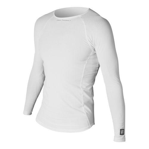 Mens De Soto Skin Cooler Long Sleeve No Zip Technical Tops - White S