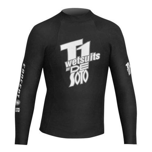 De Soto T1 First Wave Concept 5 Pullover Long Sleeve No Zip Technical Tops - ...