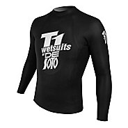 De Soto T1 Black Pearl Pullover Long Sleeve 1/2 Zip Technical Tops