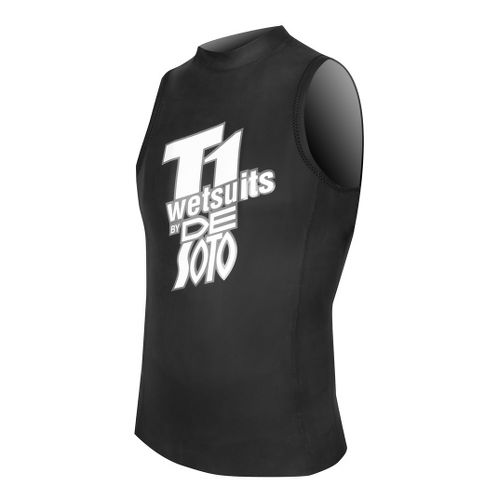 De Soto T1 Speedvest Sleeveless Technical Tops - Black 4