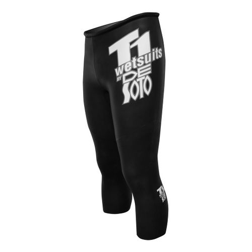 De Soto T1 Speedtube Capri Tights - Black 3