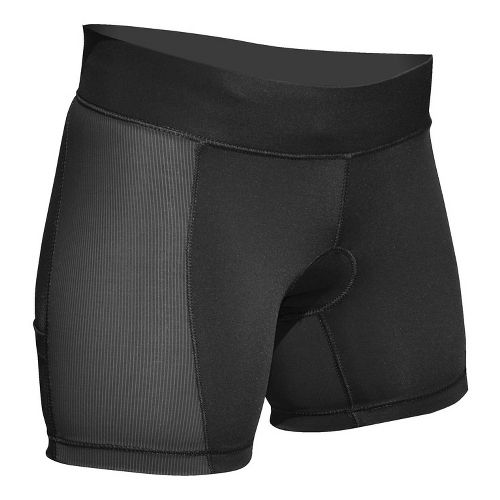 Womens De Soto Femme Forza Tri Low Rise Fitted Shorts - Victorious Black M