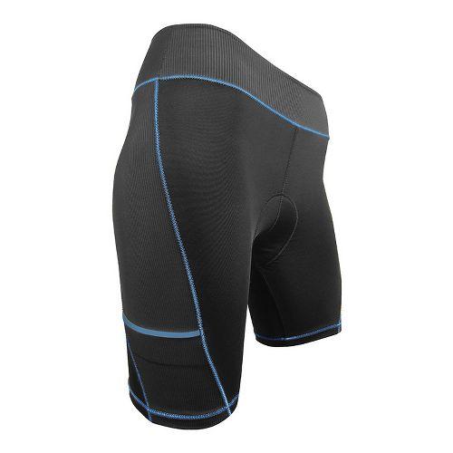 Womens De Soto Femme 400-Mile Bike Fitted Shorts - Black/Navy XS