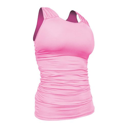 Womens De Soto Femme Carrera Ruche Full Top Singlets Technical Tops - Passionate Pink L ...