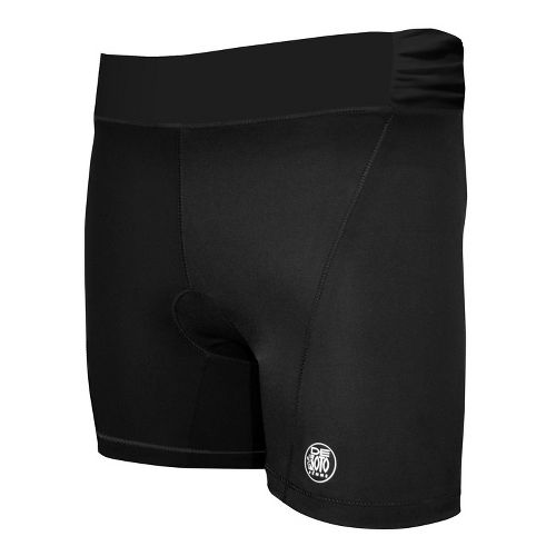 Womens De Soto Femme Carrera Tri Fitted Shorts - Victorious Black XS